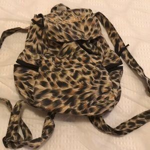 Handbags - Leopard lightweight backpack